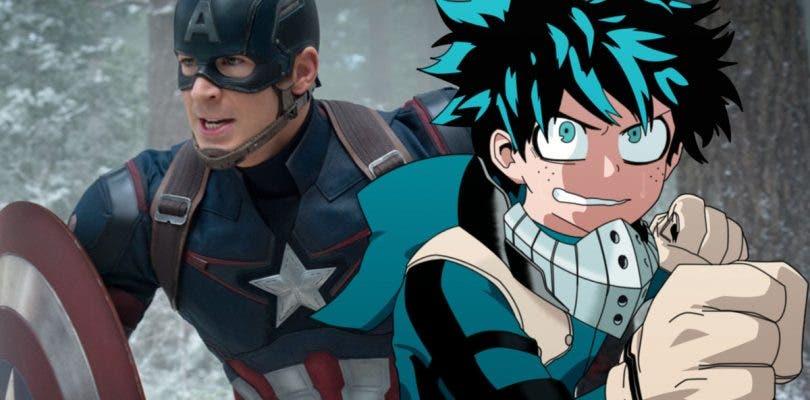 My Hero Academia firma una increíble colaboración con Vengadores: Infinity War