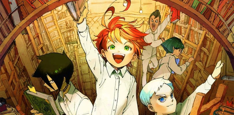 CloverWorks se encargará del nuevo anime de The Promised Neverland