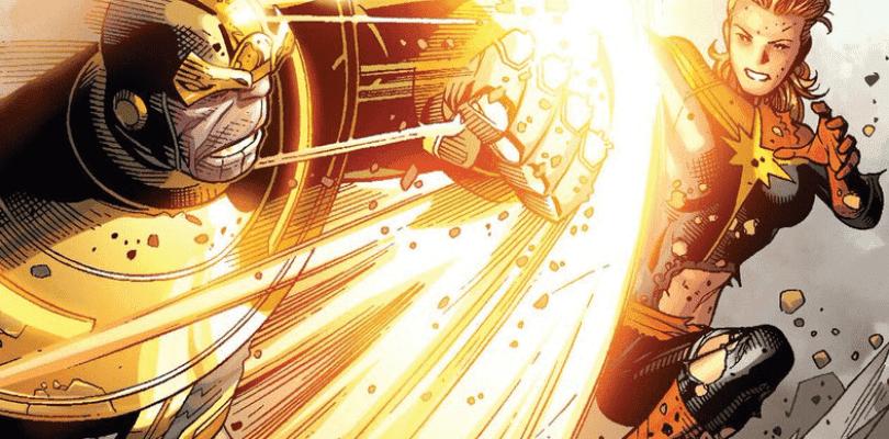 Thanos se enfrentará a Capitana Marvel en Avengers 4