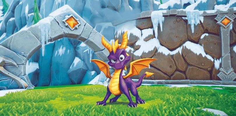 Spyro Reignited Trilogy se deja ver en dos breves gameplays comparativos de gráficos