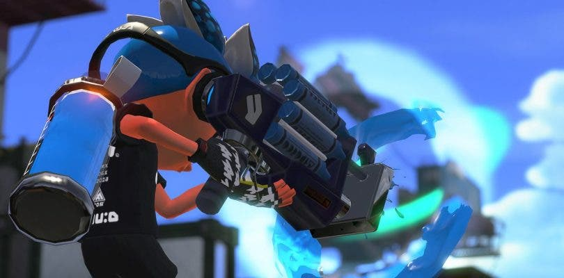 Splatoon 2 ya dispone del Turbodevastador Neo