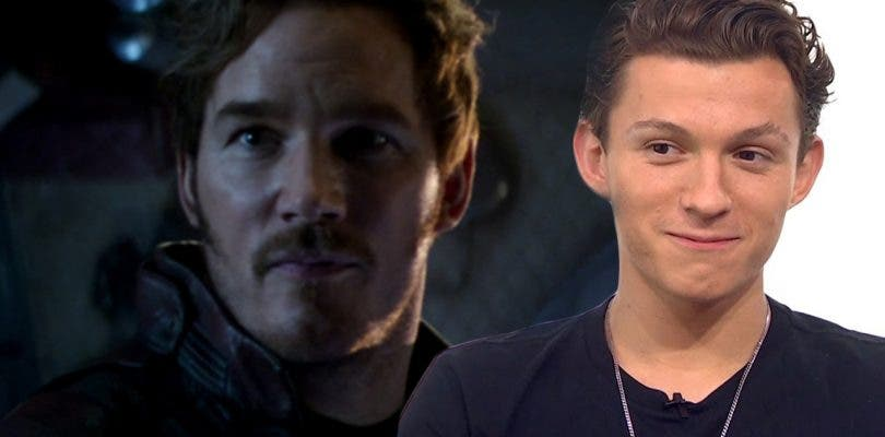 A Tom Holland le costó trabajar con Chris Pratt en Vengadores: Infinity War