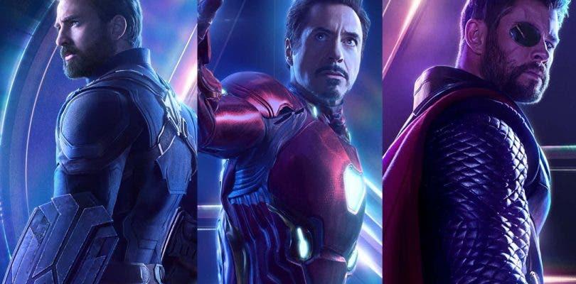 Vengadores: Infinity War se deja ver en nuevos e increíbles pósteres