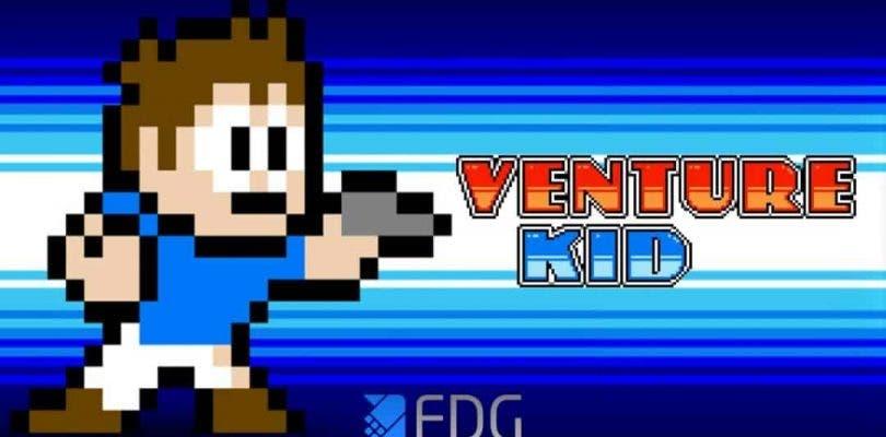 Venture Kid, el juego retro de plataformas, llegará a Nintendo Switch