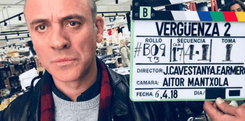 Vergüenza comienza el rodaje de su segunda temporada para Movistar+