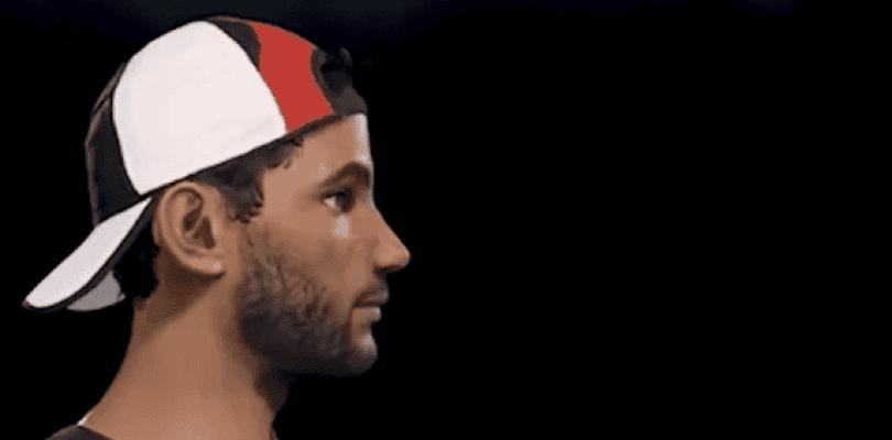 Se muestra en vídeo el editor de personajes de AO International Tennis
