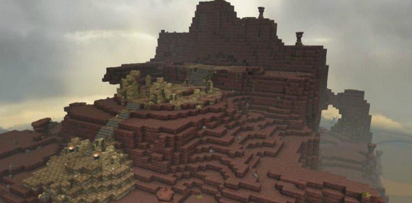 Se muestra una galería de imágenes de Dragon Quest Builders 2