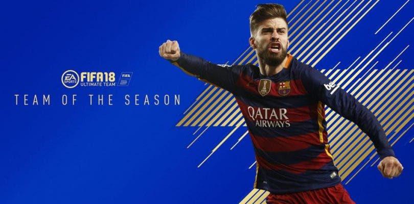 Revelado el TOTS de esta temporada de FIFA 18