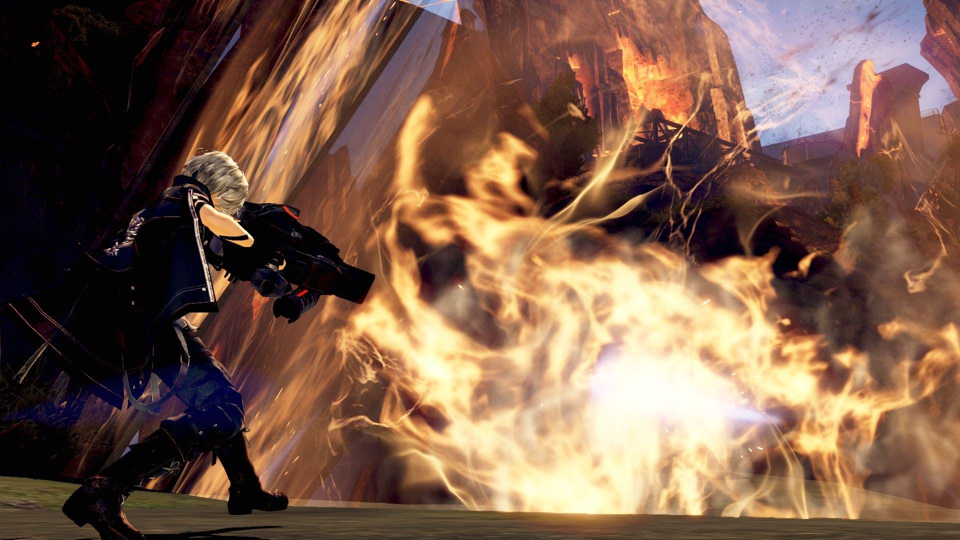 Imagen de God Eater 3 y sus Aragami rugen en el tráiler de lanzamiento