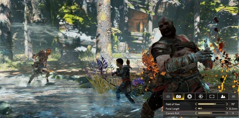 God of War brinda un primer acercamiento a su Modo Foto en vídeo