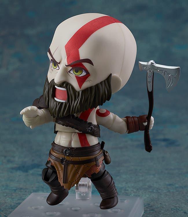 Imagen de Descubre el increíble Nendoroid Kratos inspirado en el último God of War