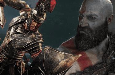 Comparativa gráfica entre God of War en PS4 Pro y Ryse: Son of Rome en PC