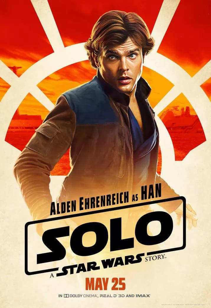 Imagen de Disney revela nuevas imágenes de Han Solo: Una Historia de Star Wars