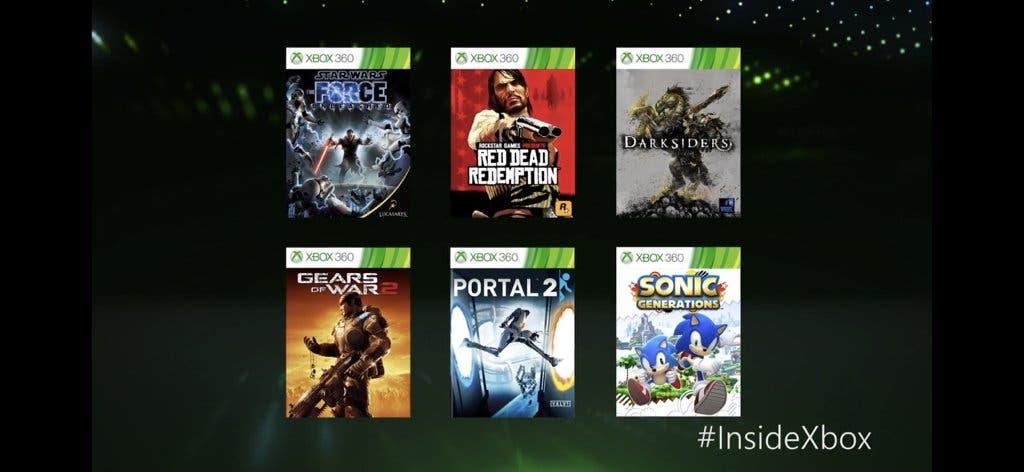 Red Dead Redemption Y Gow 2 Entre Los Juegos Mejorados Para Xbox One X