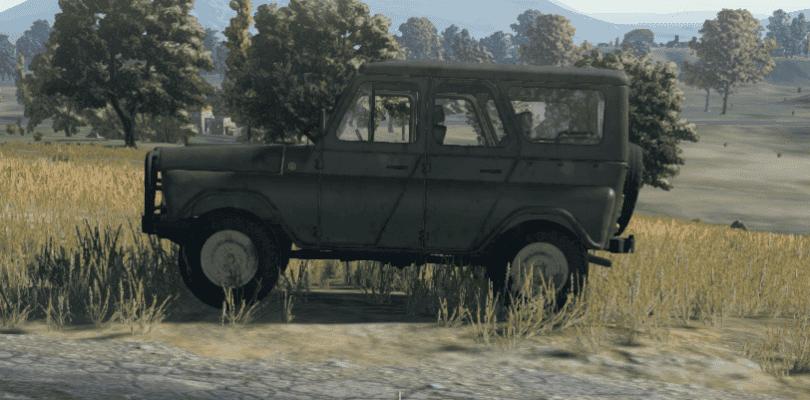 PUBG podría dar la bienvenida a los vehículos blindados