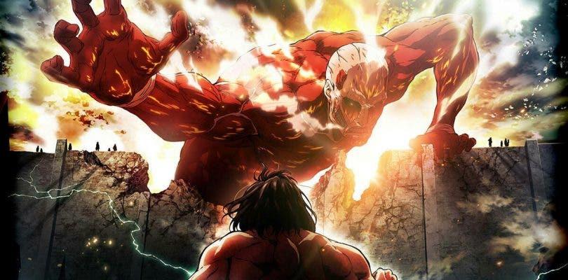 La segunda temporada de Ataque a los Titanes, en DVD y Blu-ray el 25 de abril