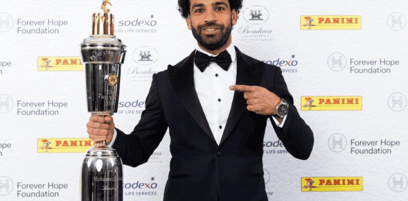 Así es la espectacular carta de mejor jugador del año de Salah para FIFA 18