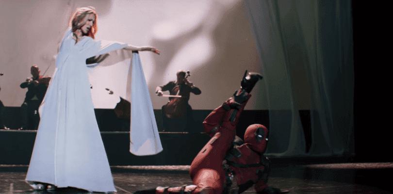 Celine Dion canta el tema principal de la banda sonora de Deadpool 2