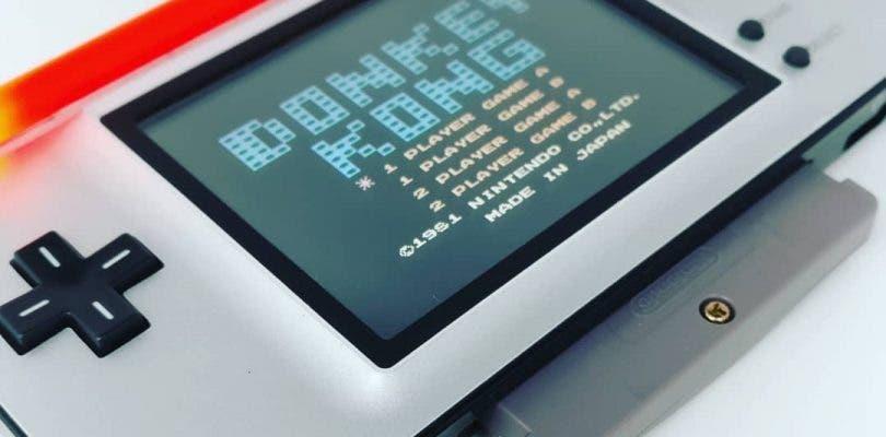 Transforma tu Nintendo DS rota en una Game Boy Advance de diseño