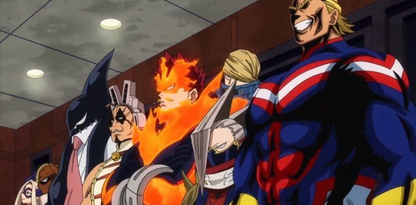 La caballería se prepara en el episodio 46 de My Hero Academia