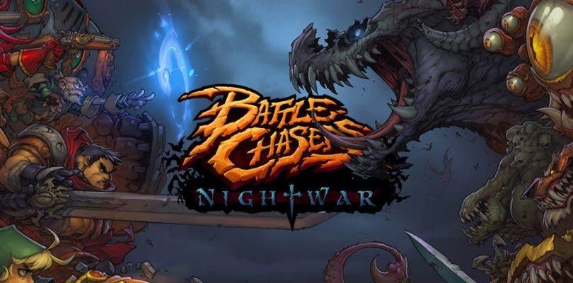 Nuevo gameplay de Battle Chasers: Nightwar en su versión para Switch