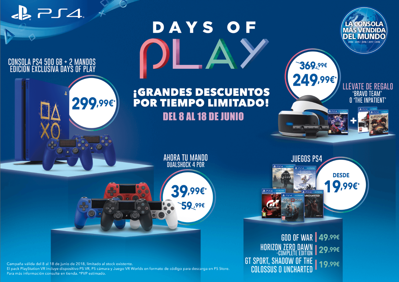 Days Of Play Regresa En Junio Con Grandes Ofertas Para Playstation 4