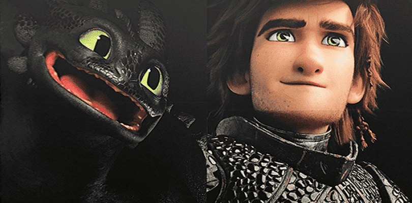 Primeras imágenes de los protagonistas de Cómo entrenar a tu dragón 3