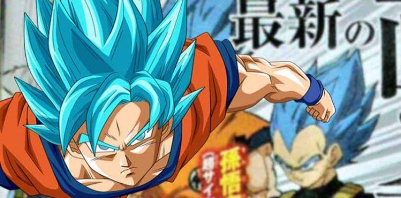 Así será el Super Saiyajin Blue en la nueva película de Dragon Ball Super