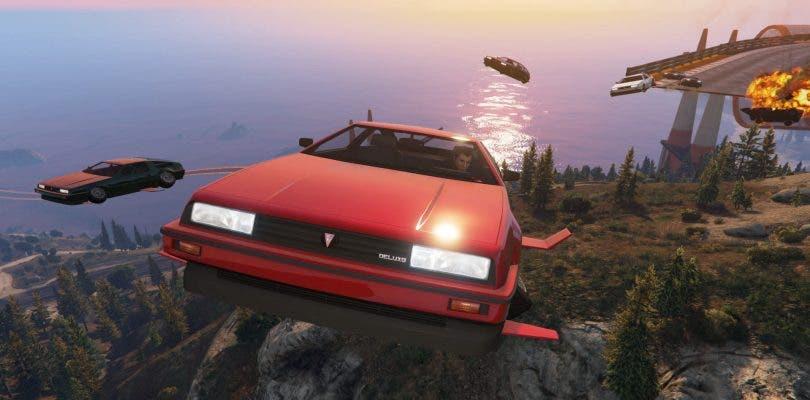 Ya disponibles en GTA Online las carreras con Deluxo, Stromberg y Thruster