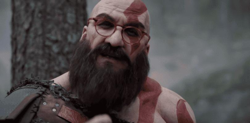 El humorista Joaquín Reyes recrea a Kratos de God of War