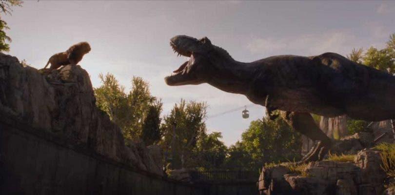 Dos reyes enfrentados en el nuevo treaser de Jurassic World 2