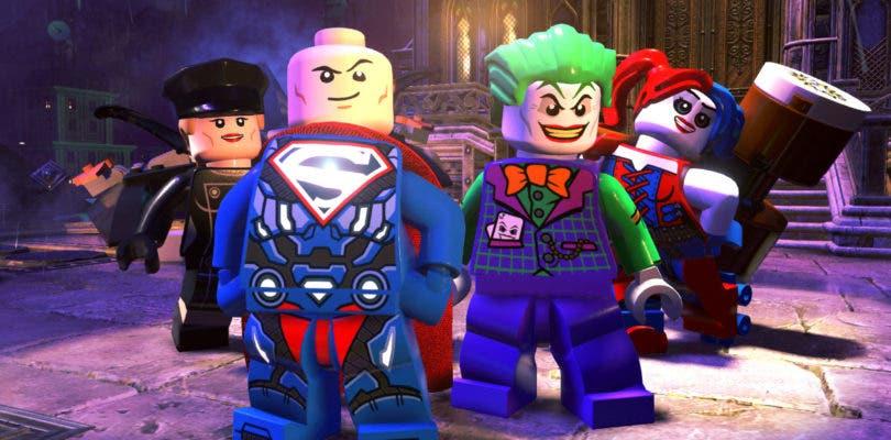 Los malos hacen piña en LEGO DC Súper-Villanos para salvar el mundo