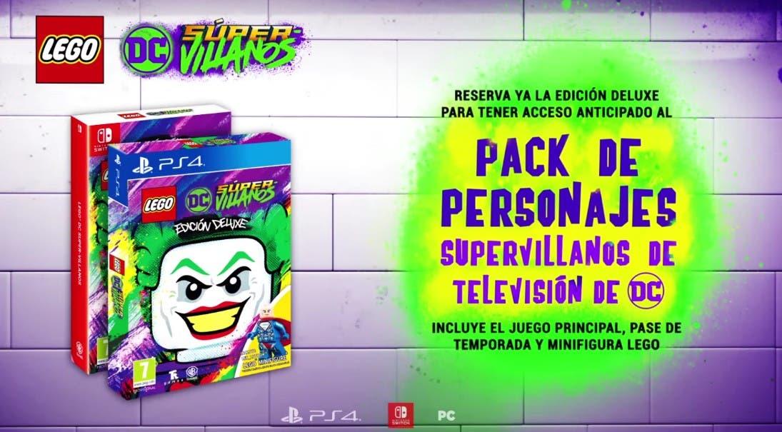 Lego Dc Super Villanos Llegara Este Octubre A Switch Ps4 Xbox One Y Pc