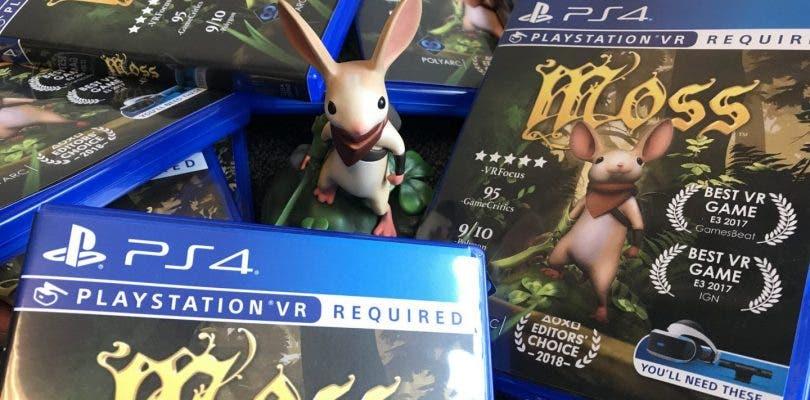 Moss y Apex Construct se lanzarán en formato físico para PlayStation VR