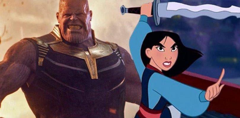 Mulán podría tener casi el mismo presupuesto que Vengadores: Infinity War