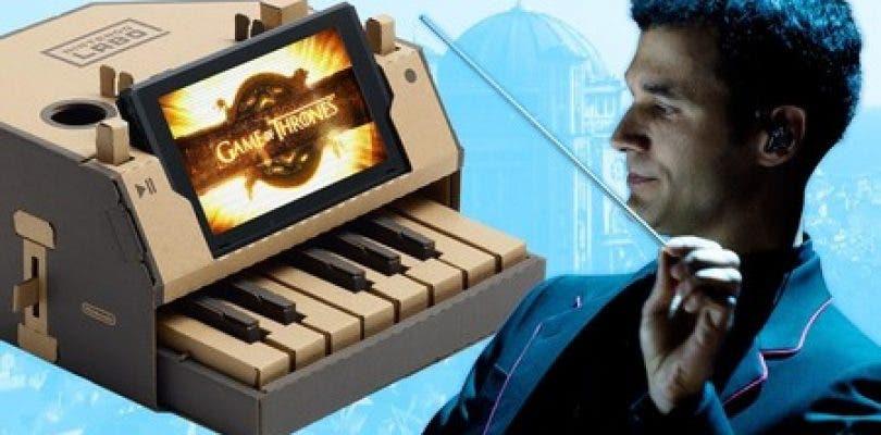 El compositor de Juego de Tronos se atreve con el piano de Nintendo Labo