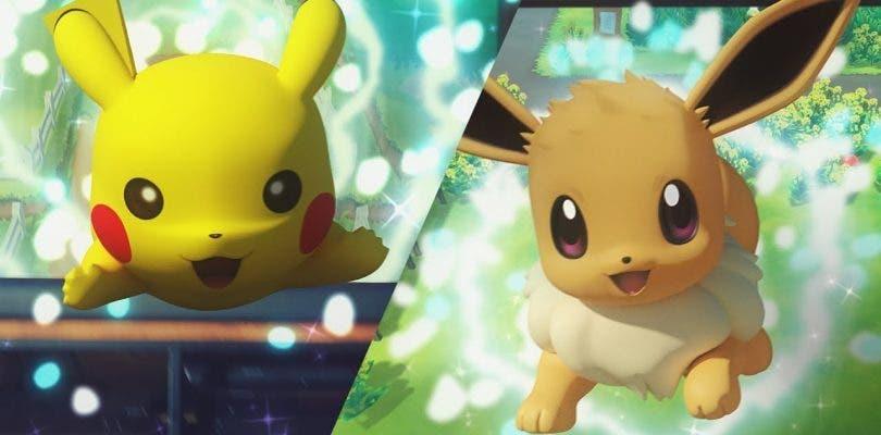 Presentados Pokémon: Let´s Go, Pikachu! y Let´s Go, Eevee! para Nintendo Switch