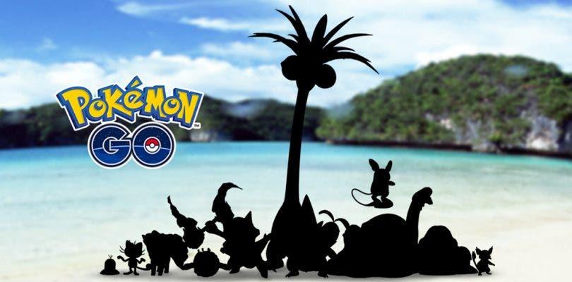 Las formas de Alola llegan también a Pokémon GO