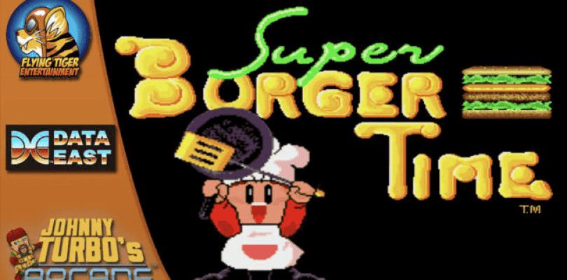 Super Burger Time llegará a Nintendo Switch la próxima semana