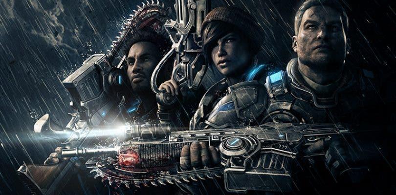 Resultado de imagen de portada Gears of War 5
