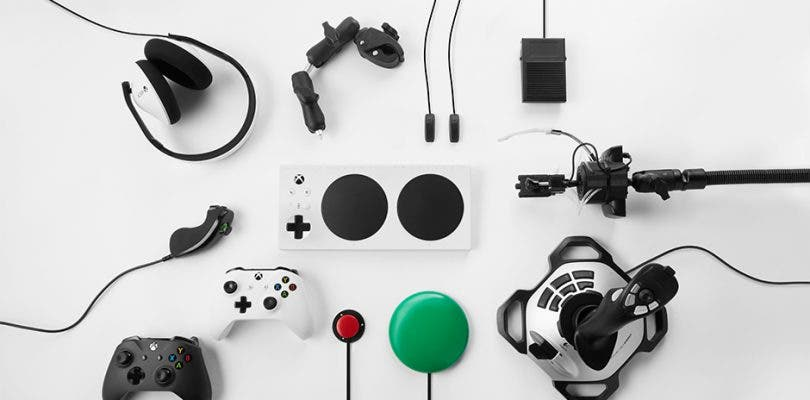 Microsoft hace oficiales los mandos adaptados para personas con problemas de accesibilidad