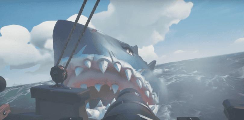Así se pelea contra el terrorífico Megalodón en Sea of Thieves