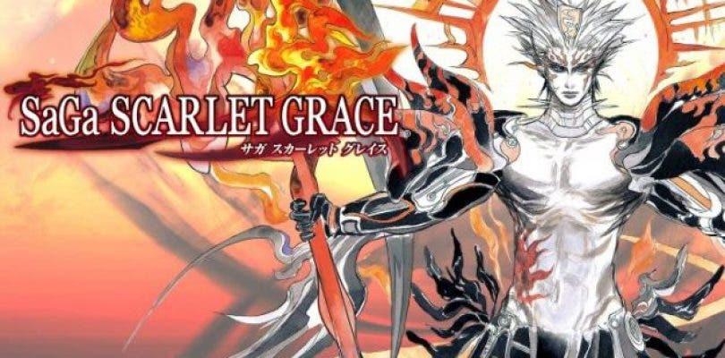 SaGa: Scarlet Grace se deja ver en su versión para Switch