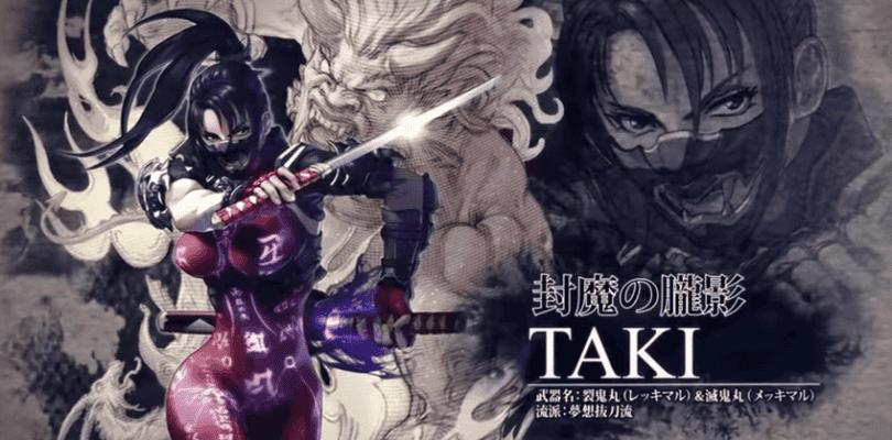 Taki será la nueva luchadora que se una al plantel de SoulCalibur VI