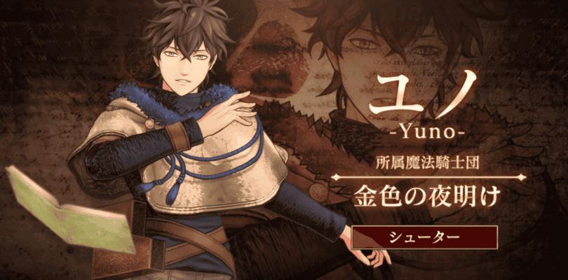 yuno Black Clover: Quartet Knights