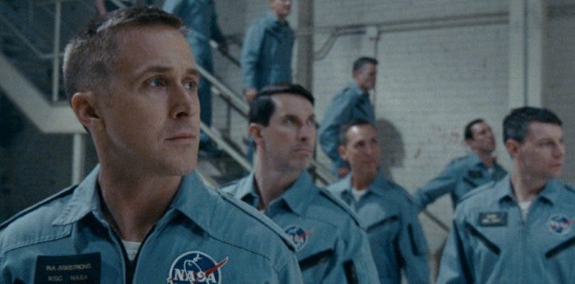 El traje espacial de Neil Armstrong protagoniza el nuevo póster de First Man