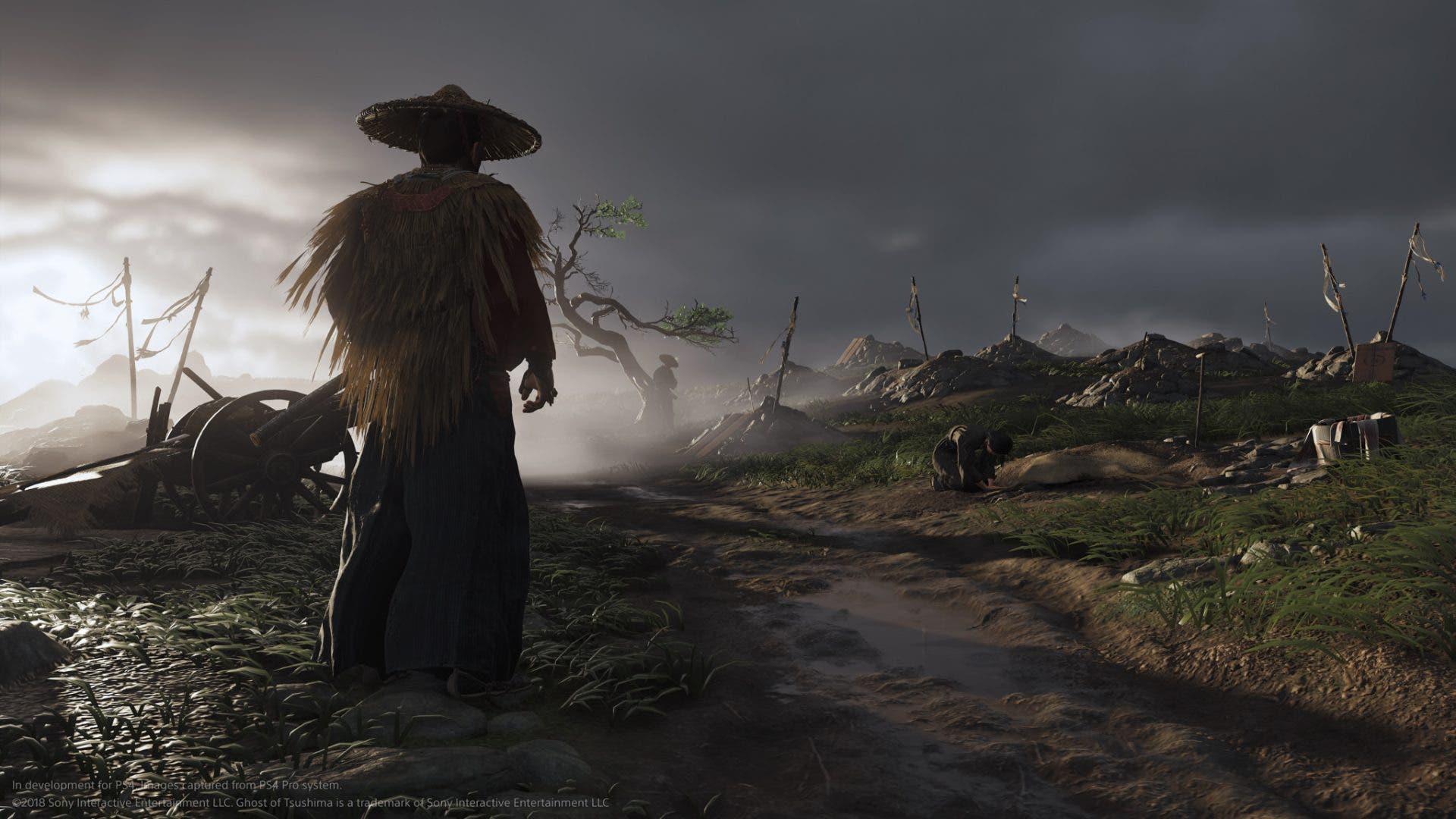 Imagen de Shuhei Yoshida, más que satisfecho con los gráficos de Ghost of Tsushima