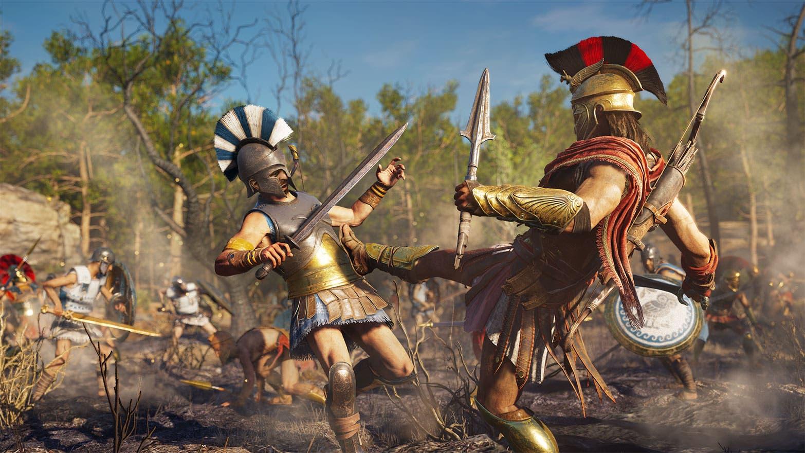 Imagen de Assassin's Creed Odyssey se deja ver en un esperado gameplay
