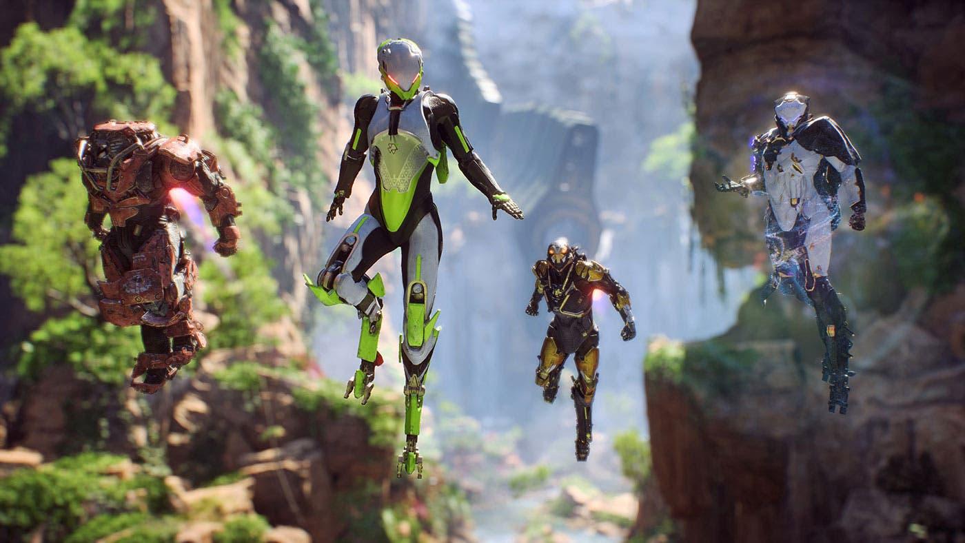 Imagen de Los sets de armadura no estarán disponibles con el lanzamiento de Anthem