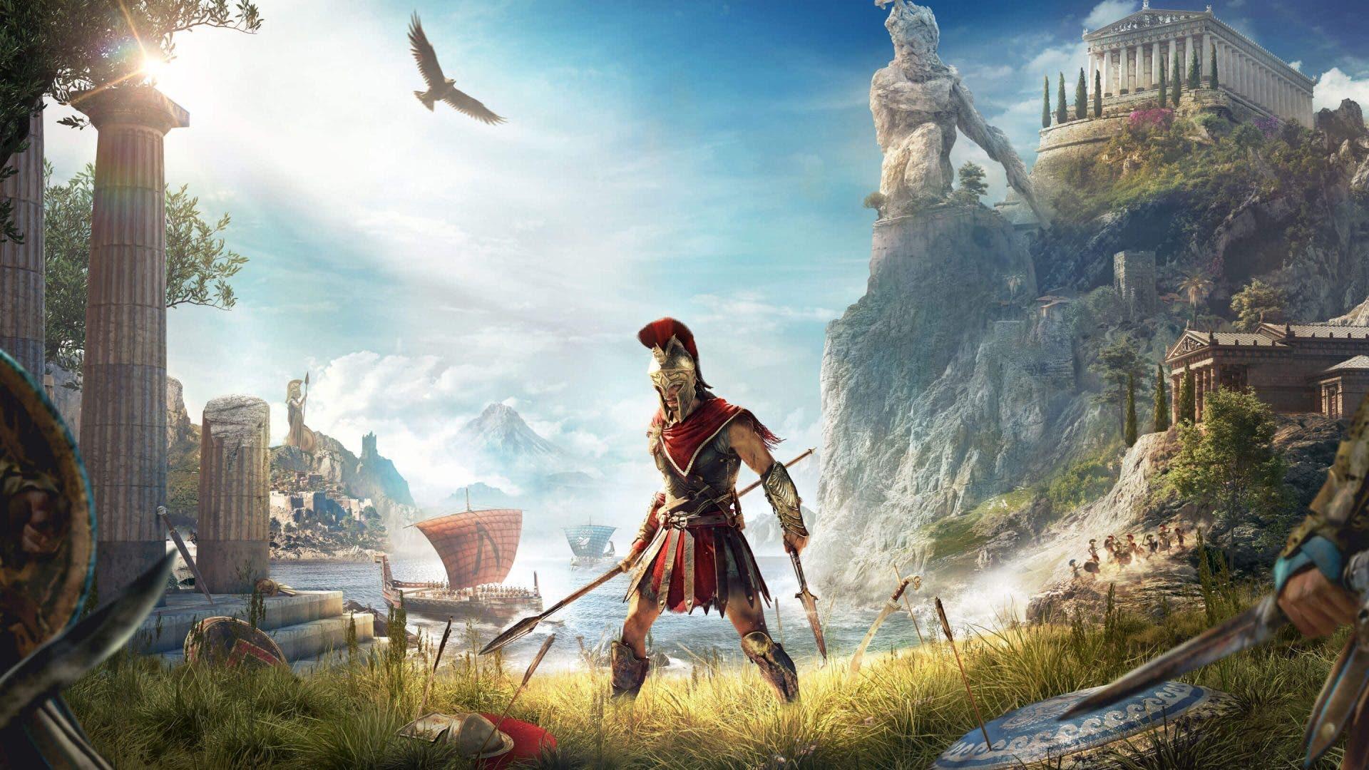 Imagen de Assassin's Creed Odyssey bromea con la polémica de Battlefront 2 en un easter egg